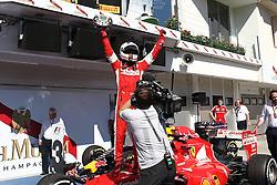 26.07.2015, Hungaroring, Budapest, HUN, FIA, Formel 1, Grand Prix von Ungarn, das Rennen, im Bild Sebastian Vettel (Scuderia Ferrari) // during the race of the Hungarian Formula One Grand Prix at the Hungaroring in Budapest, Hungary on 2015/07/26. EXPA Pictures © 2015, PhotoCredit: EXPA/ Eibner-Pressefoto/ Bermel<br /> <br /> *****ATTENTION - OUT of GER*****