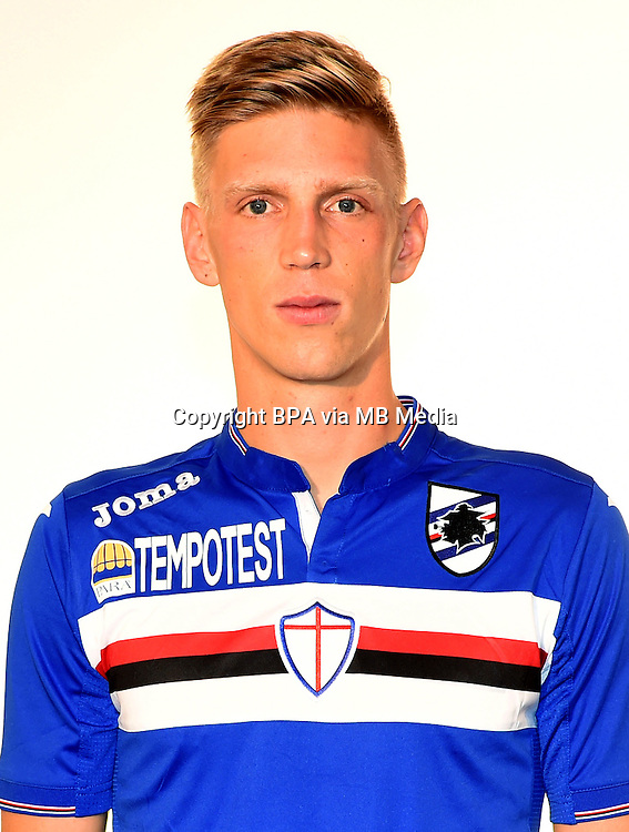 Italian League Serie A -2015-2016 / <br /> ( UC Sampdoria  ) - <br /> Bartosz Salamon