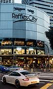 Singapore, Raffles city Shopping center