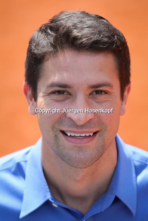 Konstantin Haerle (GER),<br /> Tour Manager der ATP, Spielervertreter,Einzelbild,<br /> Halbkoerper,Hochformat,Portrait,
