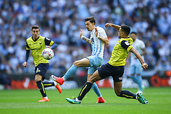 Ruben Lameiras of Coventry City in action - Photo mandatory by-line: Jason Brown/JMP -  02/04//2017 - SPORT - Football - London - Wembley Stadium - Coventry City v Oxford United - Checkatrade Trophy Final