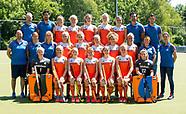 2017 Ned. team dames voor HWL Belgie