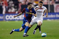 03-03-2007 VOETBAL: SEVILLA FC - BARCELONA: SEVILLA  <br /> Sevilla wint de topper met Barcelona met 2-1 / Gianluca Zambrotta en Jose Luis Marti Soler<br /> &copy;2006-WWW.FOTOHOOGENDOORN.NL
