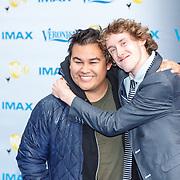 NLD/Amsterdam/20150518 - IMAX-première van X-Men: Apocalypse, Nick Golterman en vlogger Koolein, Colin Wijnholds