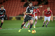 Henri Lansbury (Nottingham Forest) takes a penalty during the EFL Sky Bet Championship match between Barnsley and Nottingham Forest at Oakwell, Barnsley, England on 25 November 2016. Photo by Mark P Doherty.
