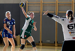 during last game of 1st A Slovenian Women Handball League season 2011/12 between ZRK Krka and RK Krim Mercator, on May 8, 2012 in Stopice at Novo mesto, Slovenia. RK Krim Mercator became Slovenian National Champion, GEN-I Zagorje placed second and ZRK Krka placed third. (Photo by Vid Ponikvar / Sportida.com)