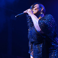 Glasgow, Scotland, UK. 20th March, 2019. Gabrielle in concert at The Old Fruit Market. Credit: Stuart Westwood