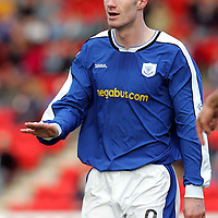 St Johnstone FC...2004-05<br />Michael Moore<br /><br />Picture by Graeme Hart.<br />Copyright Perthshire Picture Agency<br />Tel: 01738 623350  Mobile: 07990 594431