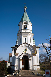Historic Russian orthodox church in Hakodate Hokkaido Japan