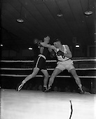 1957 Boxing - National Juvenile Championship Semi-Finals