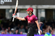 50 - James Hildreth of Somerset celebrates scoring a half century during the Royal London 1 Day Cup Final match between Somerset County Cricket Club and Hampshire County Cricket Club at Lord's Cricket Ground, St John's Wood, United Kingdom on 25 May 2019.