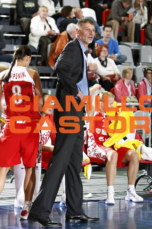 DESCRIZIONE : Valmiera Latvia Lettonia Eurobasket Women 2009 Russia Serbia<br /> GIOCATORE : Valeriy Tikhonenko<br /> SQUADRA : Russia<br /> EVENTO : Eurobasket Women 2009 Campionati Europei Donne 2009 <br /> GARA : Russia Serbia<br /> DATA : 08/06/2009 <br /> CATEGORIA : ritratto<br /> SPORT : Pallacanestro <br /> AUTORE : Agenzia Ciamillo-Castoria/E.Castoria<br /> Galleria : Eurobasket Women 2009 <br /> Fotonotizia : Valmiera Latvia Lettonia Eurobasket Women 2009 Russia Serbia<br /> Predefinita :