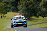 #38 Scot Adam Mini Cooper S during the MINI Challenge - Cooper S, Cooper & Open at Oulton Park, Little Budworth, Cheshire, United Kingdom. August 20 2016. World Copyright Peter Taylor/PSP.
