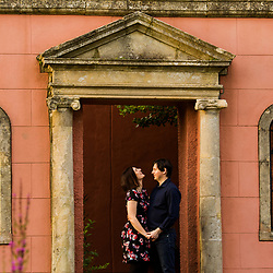 Becky and Gregor - Physic Gardens, Cowbridge