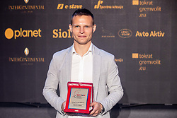 Martin Milec of Maribor during SPINS XI Nogometna Gala 2019 event when presented best football players of Prva liga Telekom Slovenije in season 2018/19, on May 19, 2019 in Slovene National Theatre Opera and Ballet Ljubljana, Slovenia. Photo by Vid Ponikvar / Sportida