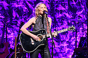 "Photos of Jennifer Nettles performing live on the ""CMT Presents Jennifer Nettles with 2016 Next Women of Country Tour"" at Beacon Theatre, NYC on January 20, 2016. © Matthew Eisman/ Getty Images. All Rights Reserved"