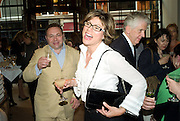 JONATHAN SHALIT; KATE SILVERTON, Book launch party for  Sashenka, a romantic novel set in St Petersburg following a society girl who becomes involved with the Communist Party. By Simon Sebag-Montefiore. Asprey. New Bond St. London. 1 July 2008.  *** Local Caption *** -DO NOT ARCHIVE-© Copyright Photograph by Dafydd Jones. 248 Clapham Rd. London SW9 0PZ. Tel 0207 820 0771. www.dafjones.com.