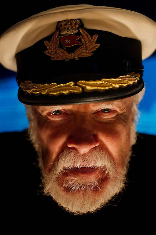 "Lowell Lytle, an actor who has portrayed Titanic Captain Edward J. Smith, Commodore of White Star Line for the past 14 years, took a 12-hour submarine vessel down to see the actual shipwreck in 2000. Lytle visited ""Titanic: The Artifact Exhibition,"" at Union Station in Kansas City, Mo."