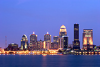 Louisville City Skyline, Kentucky