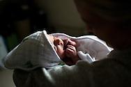 Baby first bath.<br />  <br /> Photo by Elliott Hess   UK Athletics
