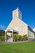 Imiola Congregational Church, 1831, Waimea, Kamuela, Island of Hawaii