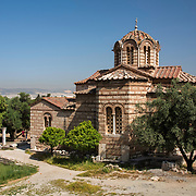 The Church of the Holy Apostles, also known as Holy Apostles of Solaki, is located in the Ancient Agora of Athens, Greece, next to the Stoa of Attalos. It is dated to the late 10th century.