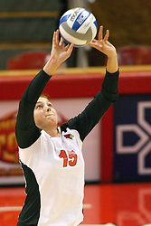01 September 2012:  Ashley Rosch during an NCAA womens volleyball match between the Oregon State Beavers and the Illinois State Redbirds at Redbird Arena in Normal IL