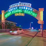 Santa Monica Pier and Shopping Mall
