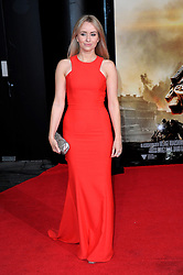 Sammy Winward at the London premiere of Edge of Tomorrow, the first of three premiere's for the film to be held in three different countries on the same day, Wednesday, 28th May 2014. Chris Joseph  / i-Images