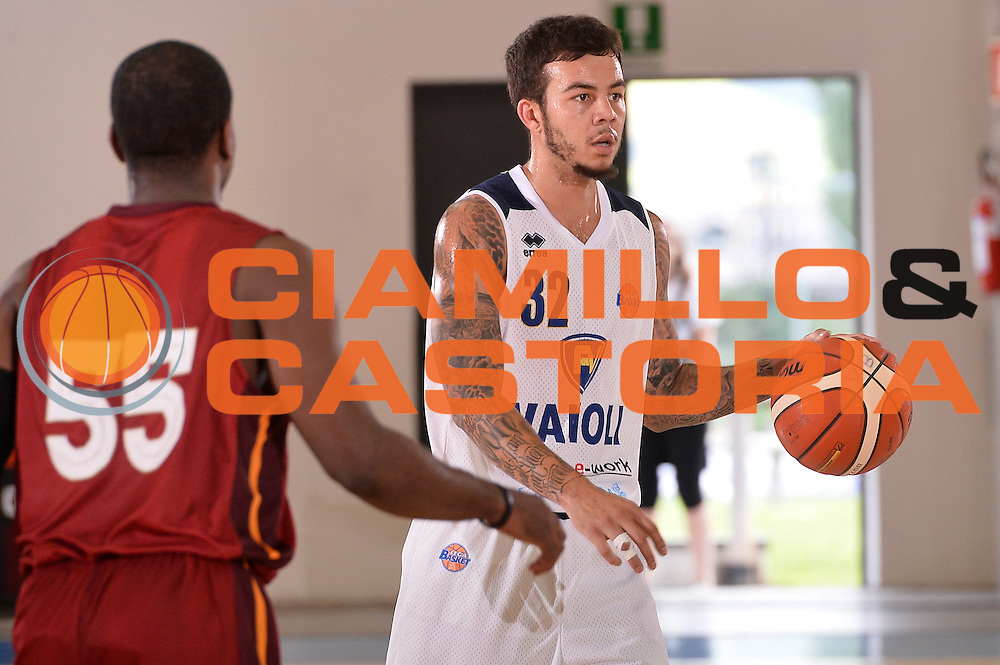Gabe York<br /> Vanoli Cremona - Galatasaray<br /> Lega Basket Serie A 2016/2017<br /> Bormio 03/09/2016<br /> Foto Ciamillo-Castoria