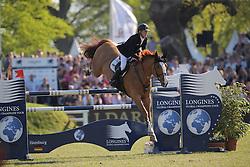 Ehning Marcus, (GER), Pret a Tout<br /> Longines Global Champions Tour - Grand Prix of Hamburg<br /> Hamburg - Hamburger Derby 2016<br /> © Hippo Foto - Stefan Lafrentz