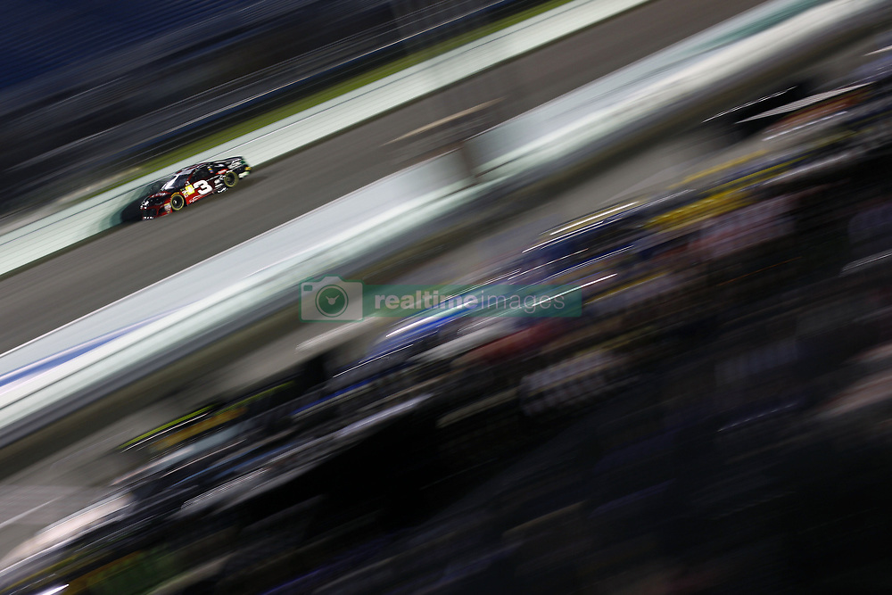 November 16, 2018 - Homestead, Florida, U.S. - Austin Dillon (3) takes to the track to qualify for the Ford 400 at Homestead-Miami Speedway in Homestead, Florida. (Credit Image: © Justin R. Noe Asp Inc/ASP)