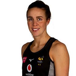 Katie Harris of Wasps Netball - Mandatory by-line: Robbie Stephenson/JMP - 02/11/2019 - NETBALL - Ricoh Arena - Coventry, England - Wasps Netball Headshots