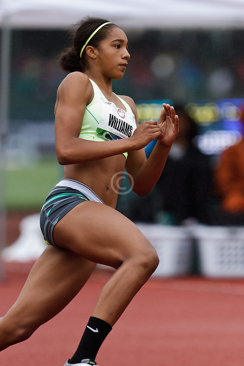 Olympic Trials Eugene 2012: women's high jump, Gaby Williams