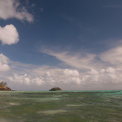 Looking Towards Paddy's Island from Turtle Island, Yasawa Islands, Fiji