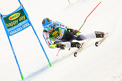 March 9, 2019 - Kranjska Gora, Kranjska Gora, Slovenia - Samu Torsti of Finland in action during Audi FIS Ski World Cup Vitranc on March 8, 2019 in Kranjska Gora, Slovenia. (Credit Image: © Rok Rakun/Pacific Press via ZUMA Wire)