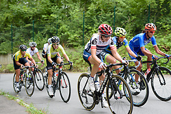 Stephanie Pohl (Cervélo Bigla) takes on the final climb at Thüringen Rundfarht 2016 - Stage 2 a 103km road race starting and finishing in Erfurt, Germany on 16th July 2016.