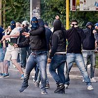 Derby Lazio-Roma, incidenti fuori lo Stadio Olimpico