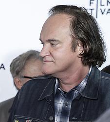 April 28, 2017 - New York, New York, United States - Quentin Tarantino attends 25th Anniversary Retrospective Screening of Reservoir Dogs at The 2017 Tribeca Film Festival at Beacon Theatre, Manhattan (Credit Image: © Sam Aronov/Pacific Press via ZUMA Wire)