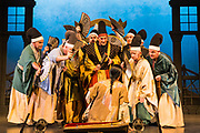 Dress rehearsal of The Mikado performed by WWOS during the <br /> 25th International Gilbert &amp; Sullivan Festival at the Royal Hall Harrogate, North Yorkshire, England on Wednesday 08 August 2018 Photo: Jane Stokes<br /> <br /> Director: Kevin Gauntlett