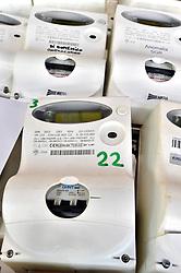 Italy, Milan -  2015.New smart electric meter.Electricity meters. (Credit Image: © Piaggesi/Fotogramma/Ropi via ZUMA Press)