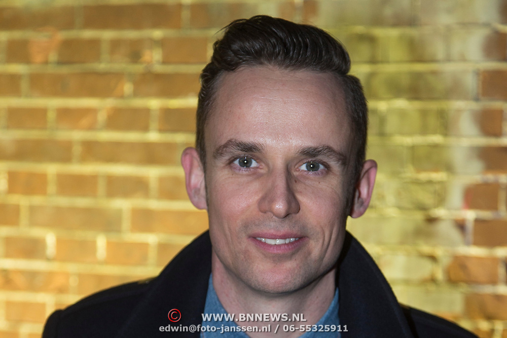 NLD/Amsterdam/20140124 - inloop E-entertainment Red Carpet party, Patrick Martens