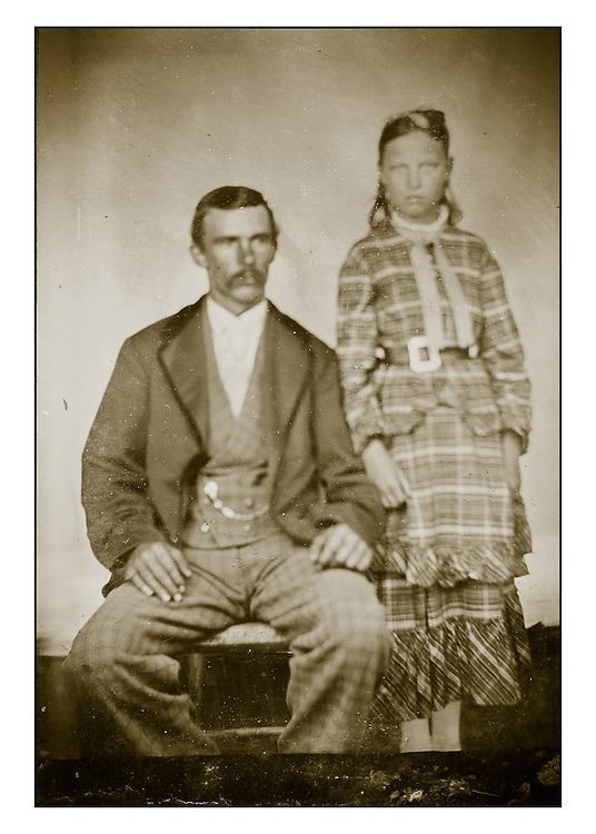 Tintypes of the Ellis Family of Maine, circa 1880