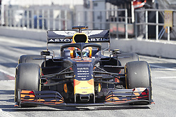 February 26, 2019 - Spain - Pierre Gasly (Aston Martin Red Bull Racing) RD15 car, seen in action during the winter testing days at the Circuit de Catalunya in Montmelo  (Credit Image: © Fernando Pidal/SOPA Images via ZUMA Wire)