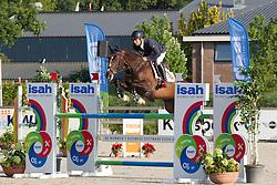 Heijligers Rob, (NED), Fire<br /> Finale 5 jarige springpaarden <br /> KWPN Paardendagen Ermelo 2015<br /> © Hippo Foto - Leanjo de Koster