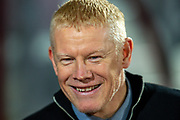 Livingston manager Gary Holt before the Ladbrokes Scottish Premiership match between Heart of Midlothian FC and Livingston FC at Tynecastle Park, Edinburgh, Scotland on 4 December 2019.