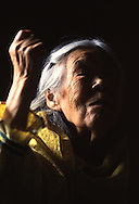"Chevak elder Mary Chimiralrea describes a traditional harvest dance she witnessed as a little girl. Arriving missionaries outlawed Yup'ik dancing in the early 1900s, declaring it ""un-Christian."""