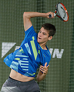 KAI LEMSTRA (GER ), DAIKIN Open 2017, ITF F14 Futures<br /> <br /> Tennis - DAIKIN Open 2017 - ITF 15.000 -  TennisBase - Oberhaching - Bavaria - Germany - 10 October 2017. <br /> &copy; Juergen Hasenkopf