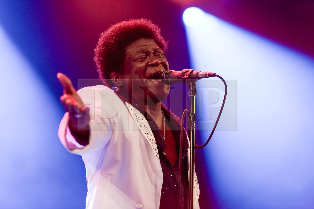 © Licensed to London News Pictures. 30/05/2014. Barcelona, Spain.   Charles Bradley performing live at Primavera Sound Festival.   Charles Bradley is an American funk/soul/R&B singer. Primavera Sound, or simply Primavera, is an annual music festival that takes place in Barcelona, Spain in late May/June within the Parc del Fòrum leisure site. Photo credit : Richard Isaac/LNP