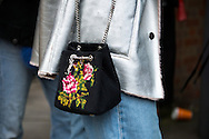 YSL Needlepoint Bag, Outside Chalayan FW2017